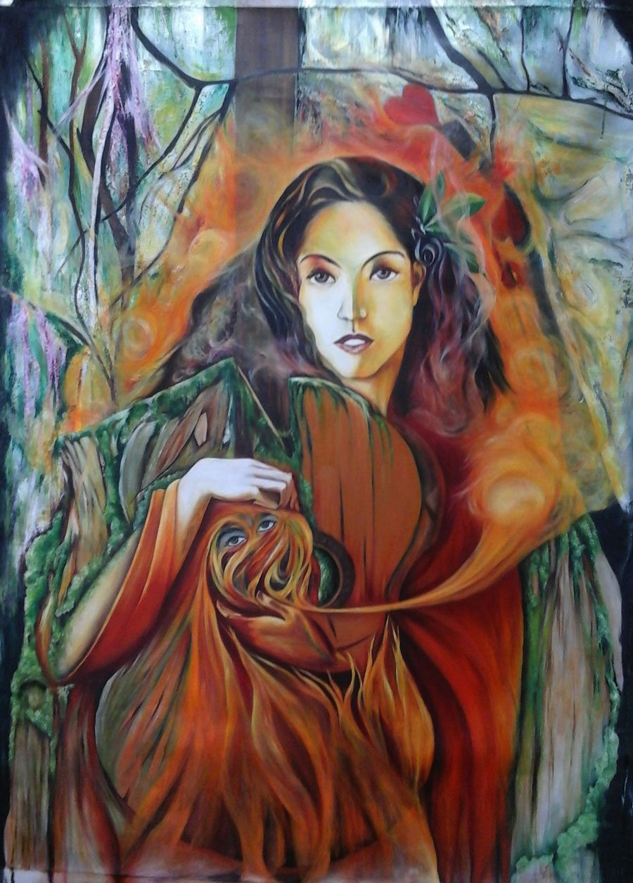 The Moss Woman (La Mujer Musgo)