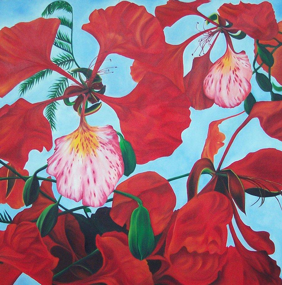 La Flor del Flamboyan
