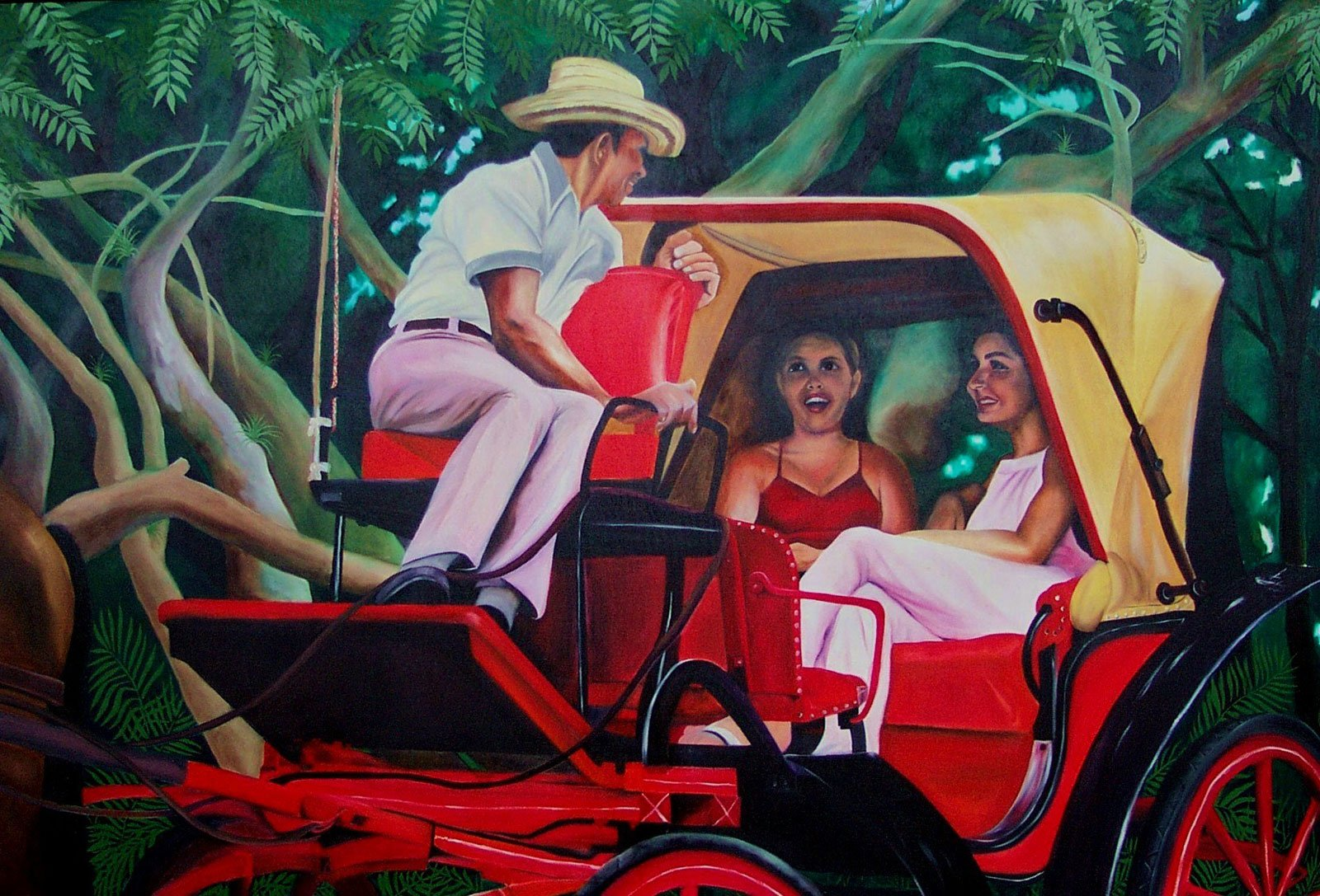 The Red Carriage