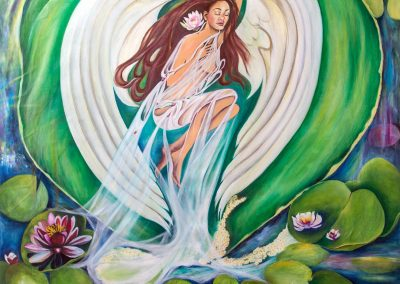 The Angel of the Water Lilies